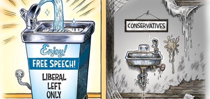 the state of free speech in america meme