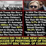 who profited from charity hillary clinton or eric trump