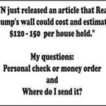 CNN border wall could cost between $120-$150 per household