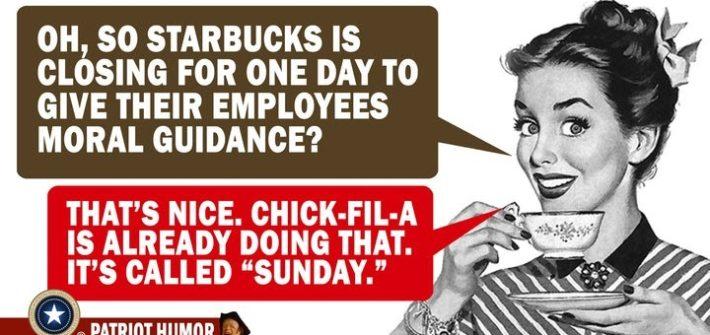 starbucks vs. chick-fil-a