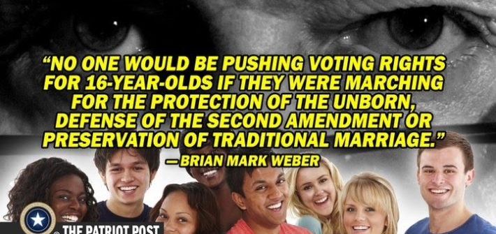 16 year olds vote for protection of the unborn