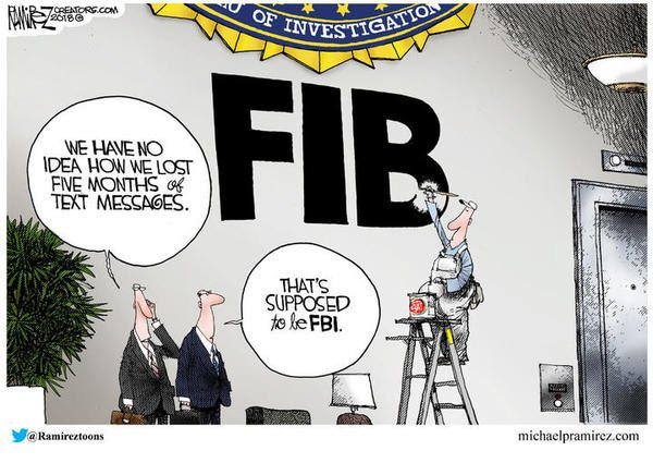 fbi fib political cartoon