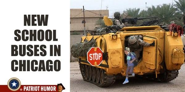 chicago school bus tank meme