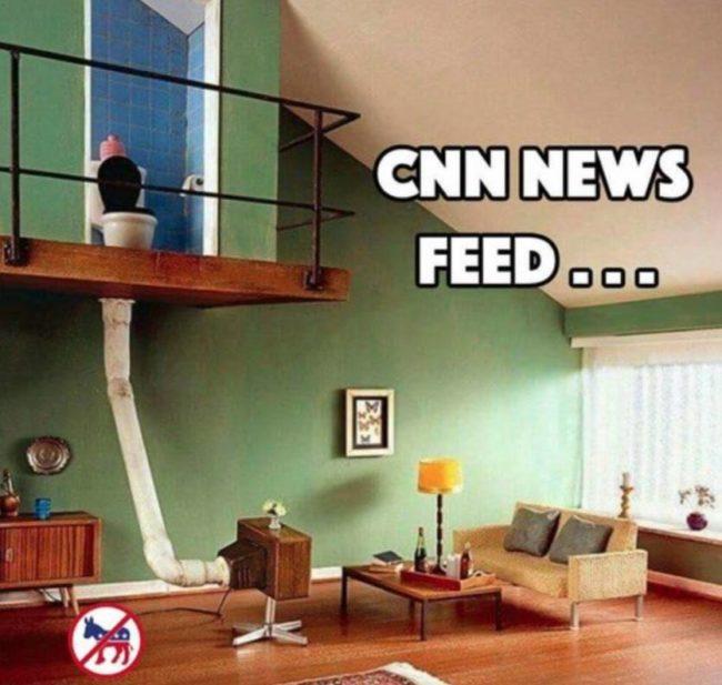 cnn news feed funny meme toilet