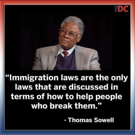 immigration laws are the only laws that are discussed in terms of how to help people who break them