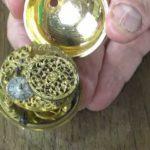 look inside pocket watch from 1680
