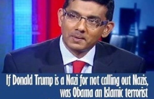 dinseh d'souza trump nazis obama terrorists