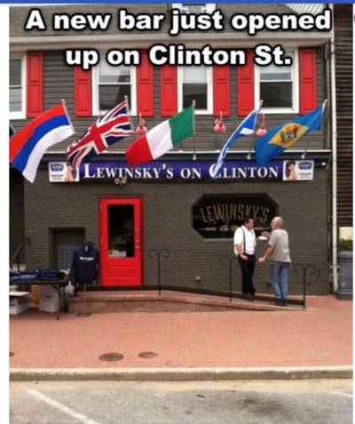 lewinsky's on clinton