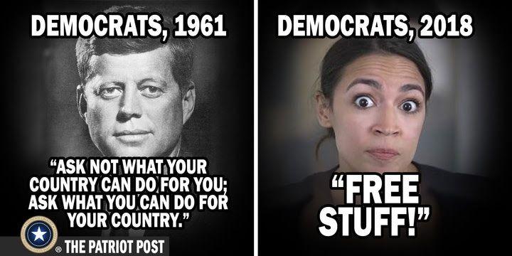Free Stuff Democrats Giving Away Everything