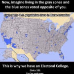 Electorial College visual map