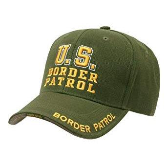 US border patrol hat