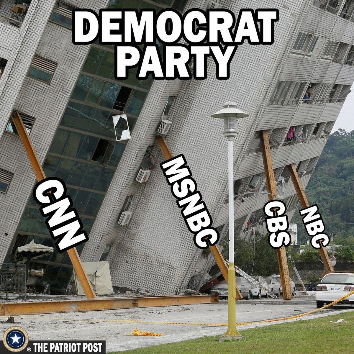 Democrats cnn msnbc nbc cbs