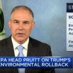Scott Pruitt EPA Turmp rollback
