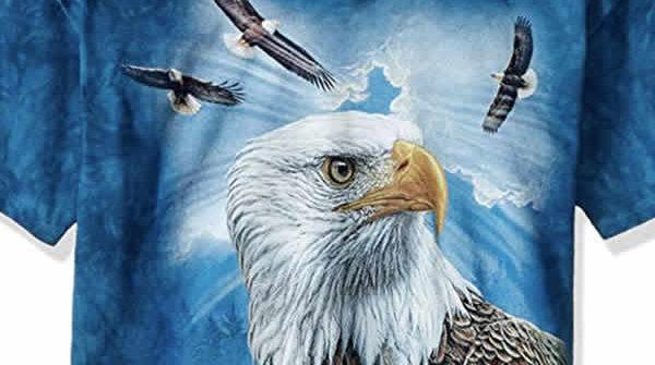 bald eagle t-shirt