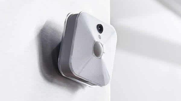 blink indoor home security camera