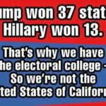 electorial college hillary trump