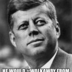 jfk leaving democratic party