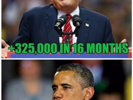 Trump vs obama manufacturing numbers