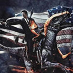 awesome ronald reagan velociraptor t-shirt