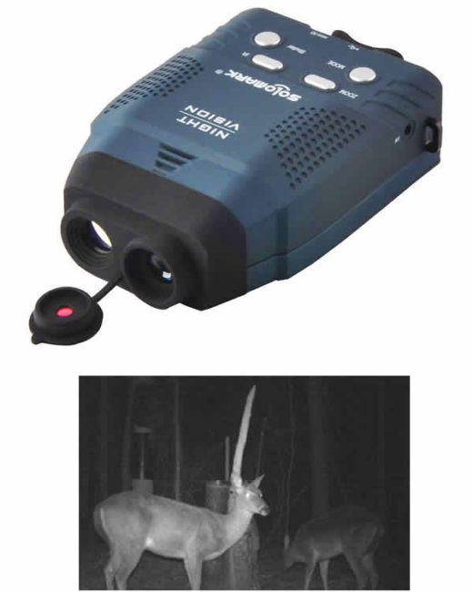solomark night vision monocular see in the dark