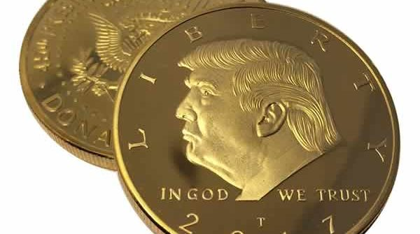 trump gold coin gifts for republicans