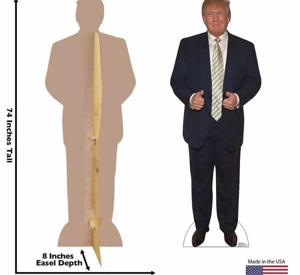 trump life size cardboard cutout