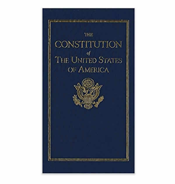 u.s. constitution full text book