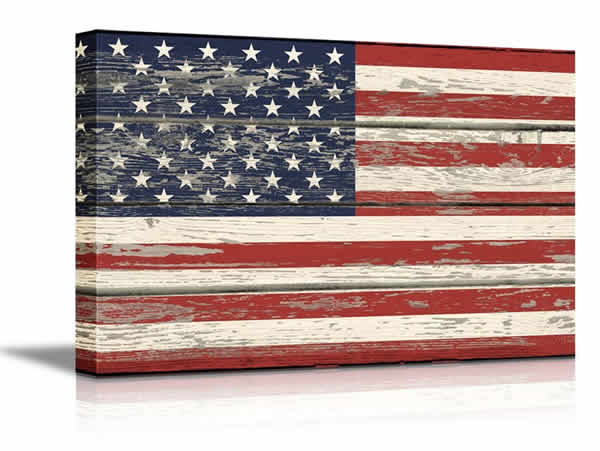 american flag wall hanging