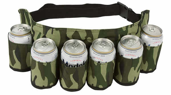 six pack can holster