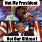 not my president not my citizen