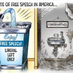 the state of free speech in america meme