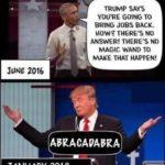 obama there's no magic wand trump abracadabra