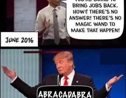 obama there's no magic wand trump abracadabra