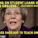 elizabeth warren charges $400,000 to teach one course