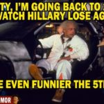 back to the future hillary clinton lose
