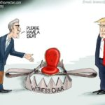 mueller trump perjury trap political cartoon