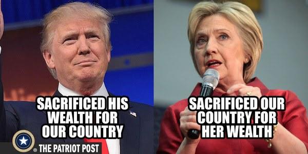 trump hillary clinton meme