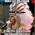 elizabeth warren native american meme