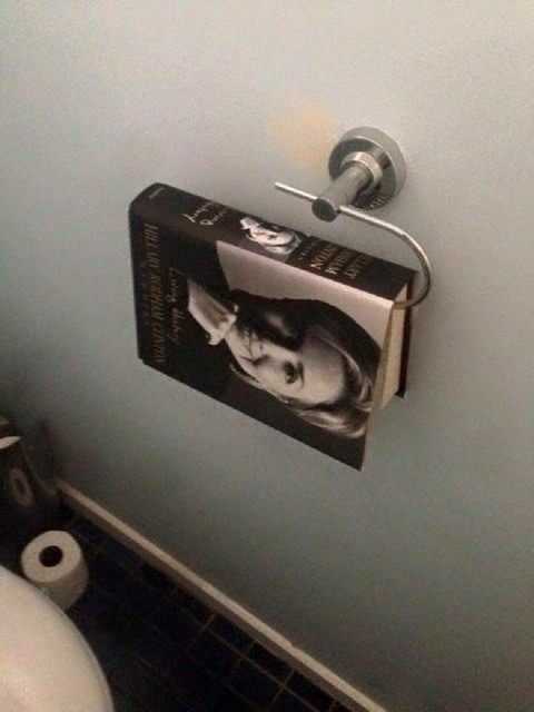 hillary clinton book toilet paper