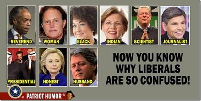 now you know why liberals are so confused