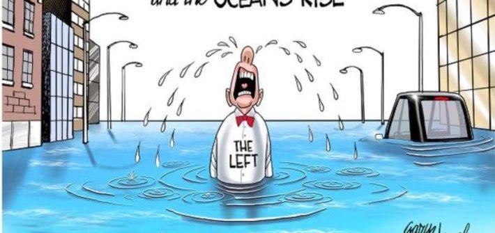 trump pulls out of paris accord political cartoon funny