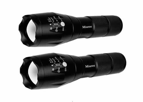 military grade tactical flashlights