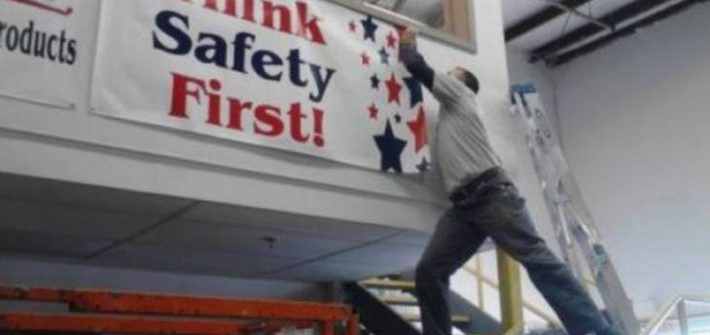 think safety first funny pic