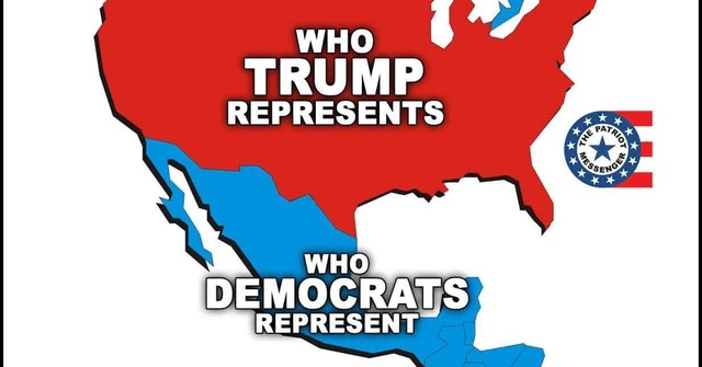 who trump represents who democrats represent