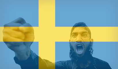 sweden becoming islamic state
