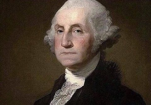 george washington I didn't use my right to free speech to defeat the british I shot them