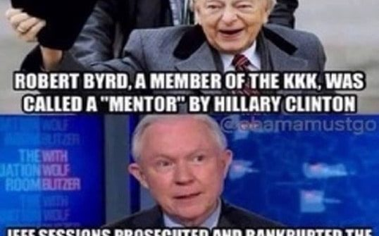 robert byrd kkk jeff sessions