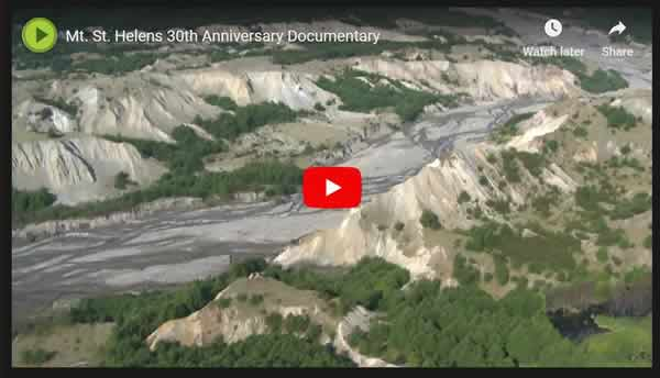 Mount St. Helens 30 years later video