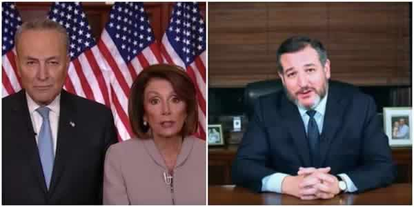 nancy pelosi ted cruz government shutdown