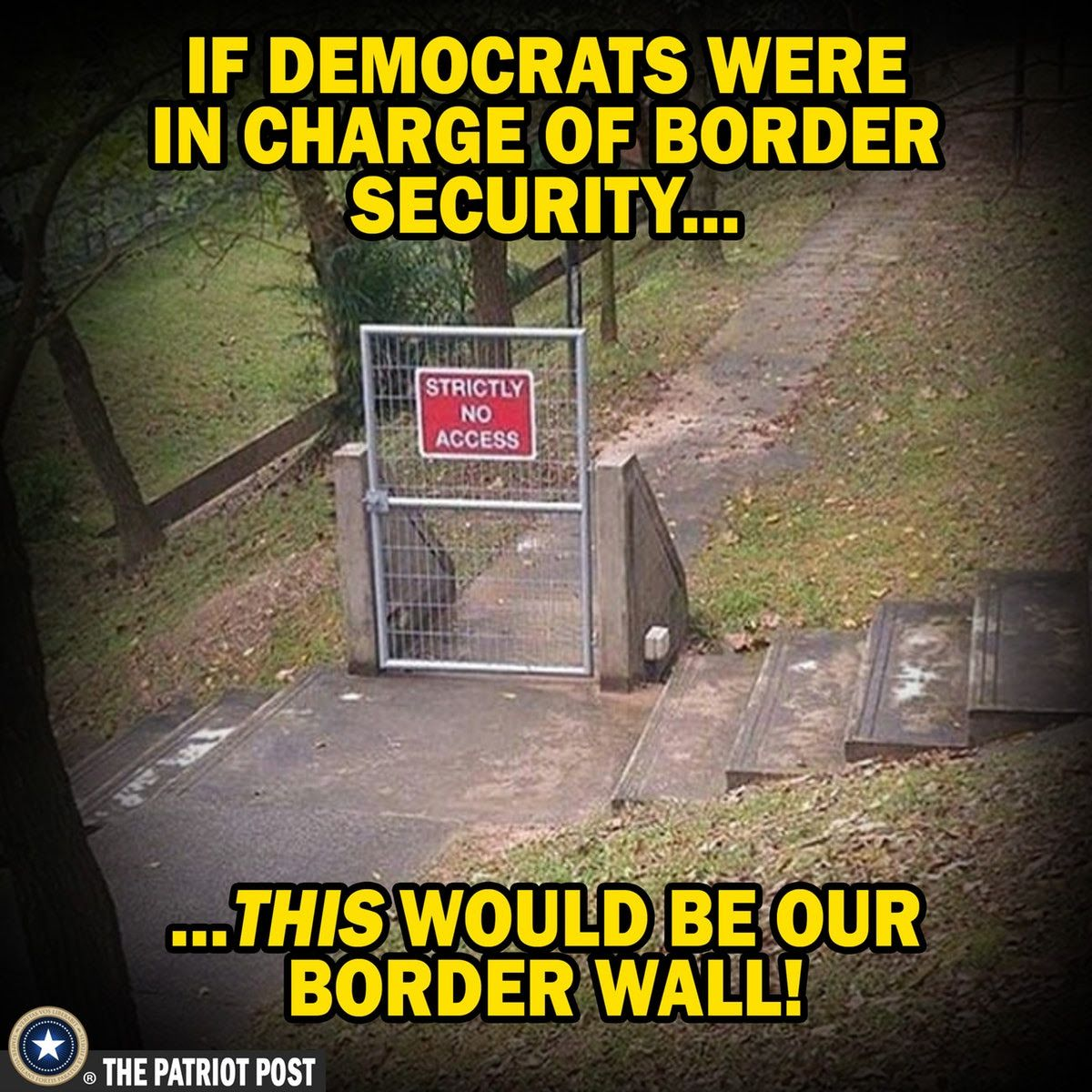 democrats border security wall